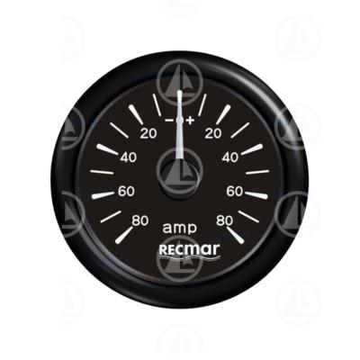 Amperometro Recmar per strumentazione barca RECKY06200 (nero)