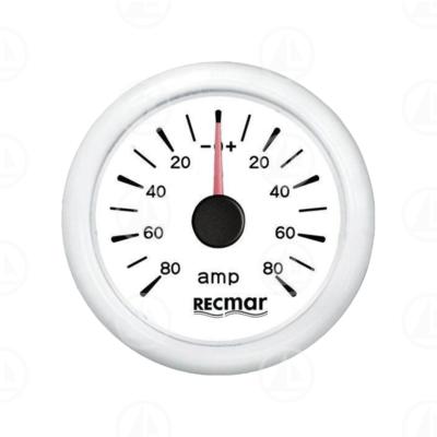 Amperometro Recmar per strumentazione barca RECKY06300 (bianco)