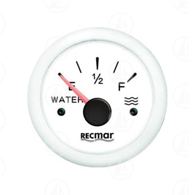 Indicatore livello carburante Recmar per cruscotto barca RECKY11300 (bianco)