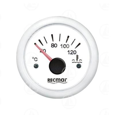 Indicatore temperatura acqua Recmar per cruscotto barca RECKY14304 (bianco)